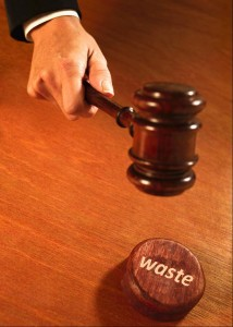 Lawyers on waste